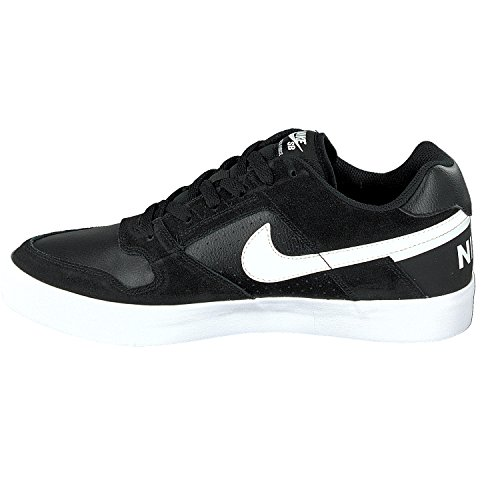 Nike Mens Sb Delta Force Vulc Pattino Scarpa Ossidiana / Nero Ossidiana
