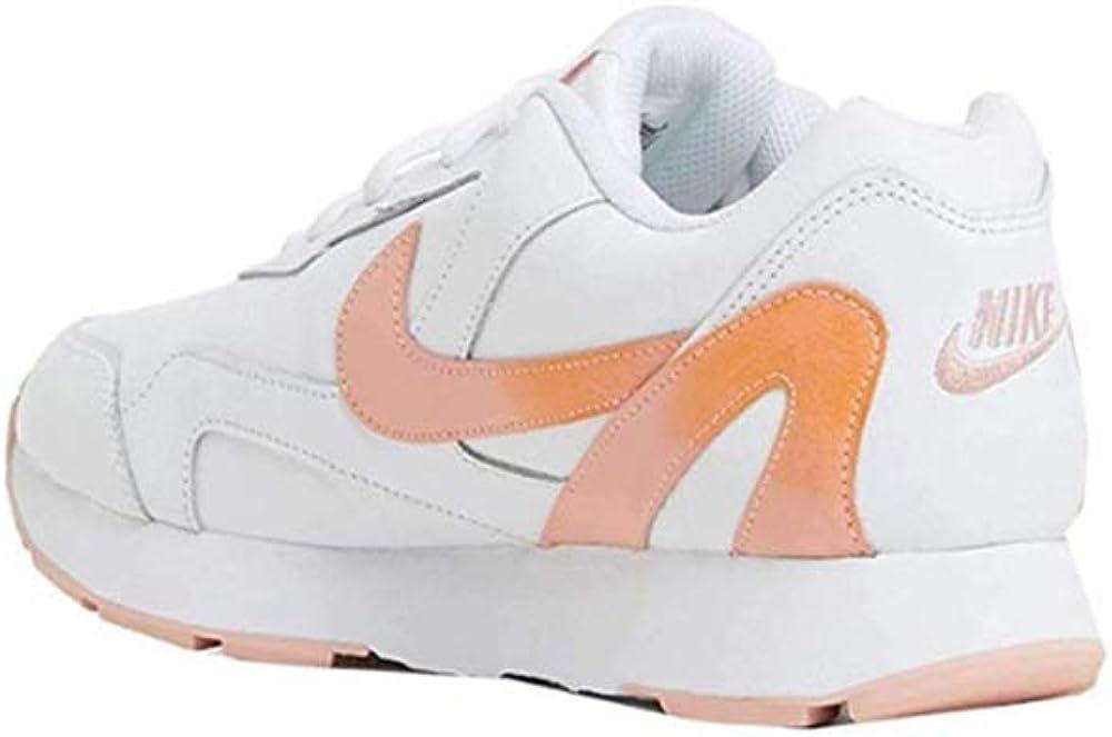 Nike Wmns Delfine Lea, Scarpe da Atletica Leggera Donna Mehrfarbig White Kumquat Coral Stardust 100