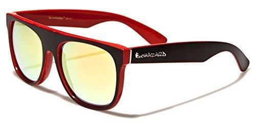 Naranja BIOHAZARD Lentes COMPLETO Sol Vibrante UV400 Bolsa Cabaña Negro Protección Rectangular GRATIS unisex Rojo De Gafas Deporte Conducción Moda INCLUIDO rrUq4