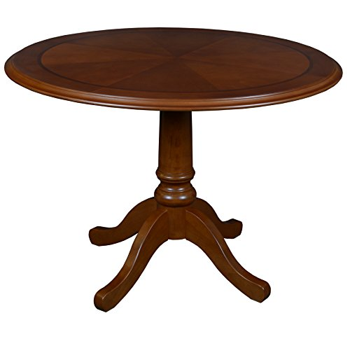 Regency TVCTR42CH Prestige Traditional Veneer Round Table, 42