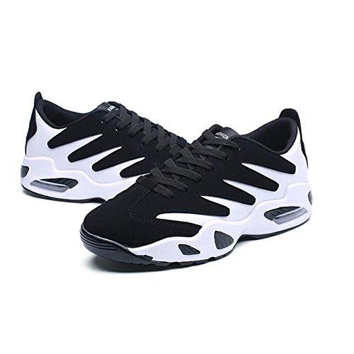 UK9 per 2 d'aria uomo autunno SUN sportive CN44 primavera Moda EU43 aumentare scarpe moda 4 scarpe dimensioni e casual l'altezza Colore cuscino HxBvq