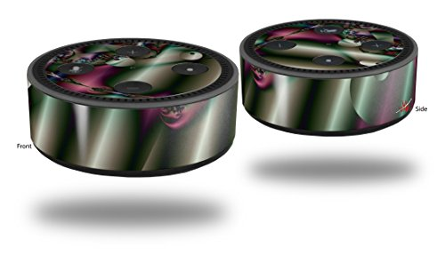 Echo Organ - Skin Wrap Decal Set 2 Pack for Amazon Echo Dot 2 - Pipe Organ (2nd Generation ONLY - Echo NOT INCLUDED)