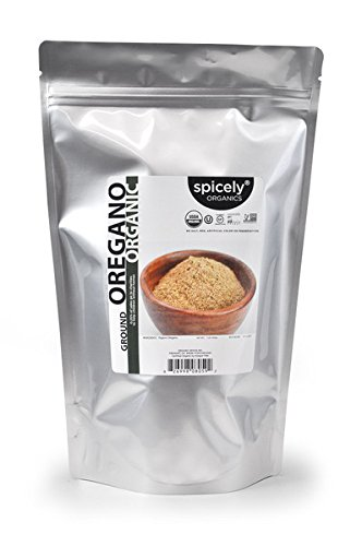 Spicely Organic Spices - Spicely Organic Oregano Ground 12 Oz Bag Certified Gluten Free