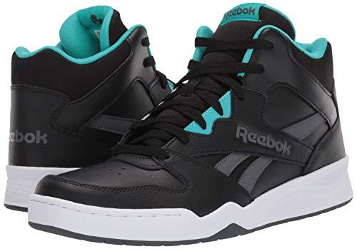Reebok Men's Royal BB4500 HI2, Black/Solid Teal/True Grey/White, 9 M US