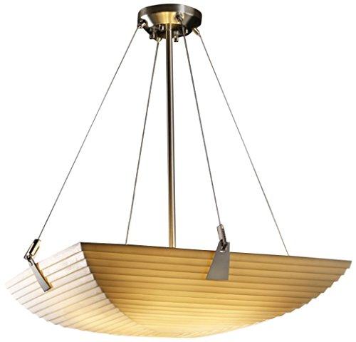 Justice Design Group Lighting PNA-9642-25-SAWT-NCKL-LED5-5000 Porcelina-Tapered Clips 27