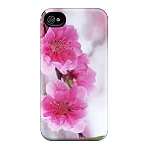 New Fashionable Mwaerke VJvrTVt2476VRjix Cover Case Specially Made For Iphone 4/4s(flowers Blossoming Plum High Quality Free Jpg)