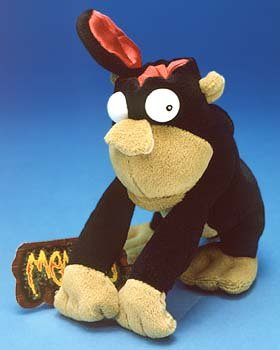 Duh Series - NO BRAINER * MEANIES * Series 3 * Bean Bag Plush Toy From The Idea Factory