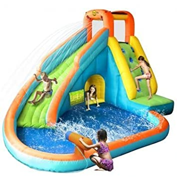 Castillo Hinchable acuatico - Water Slide With Pool and ...