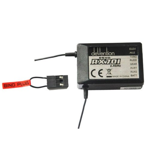 - Walkera Devention DEVO RX701 2.4GHz 7 Channel Receiver RX 2.4 GHz DEVO 6 7 8 12