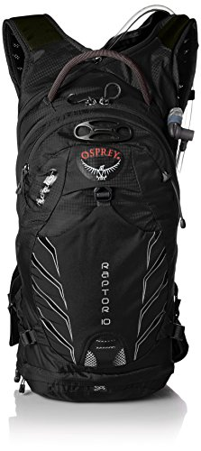 Osprey Men's Raptor 10 Hydration Pack, Black, One Size