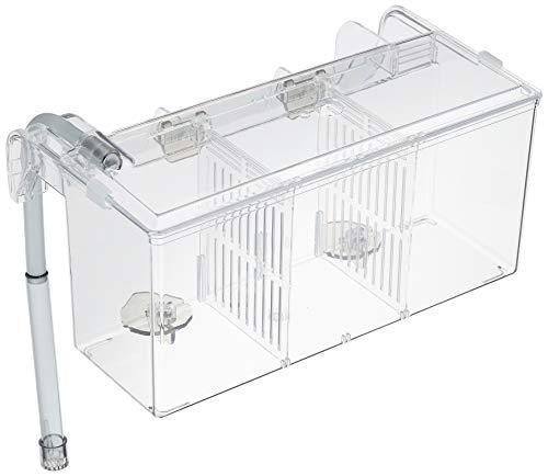 External / Hang On Plastic Aquarium Fish Breeding Box Satellite L (new)