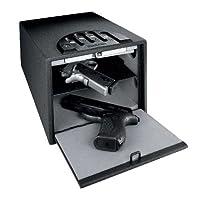 "GunVault Deluxe Multi Vault Safe, 14"" x 10"" x 8"", Black"