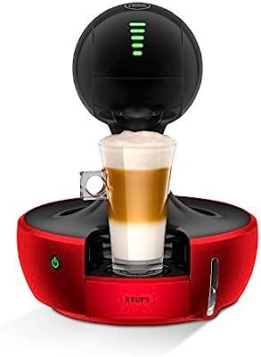 Krups Dolce Gusto Drop KP3505 - Cafetera de cápsulas, 15 bares de presión, color rojo