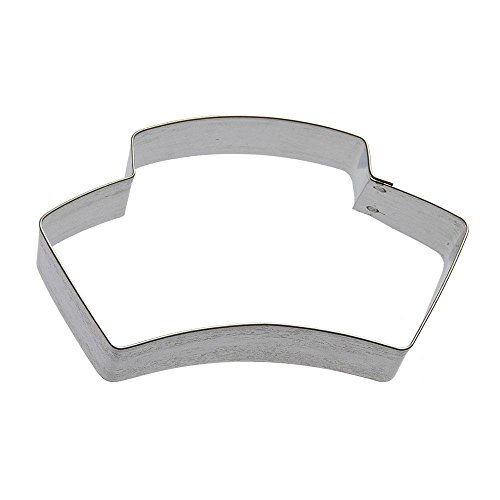 Nurse Hat Cookie Cutter 4 in B1666  Foose Cookie Cutters  USA Tin Plate Steel