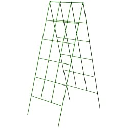"Panacea Products 46"" x 18"" A Frame Light Green Trellis-(83712)"