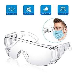 EPODA Safety Over-Glasses,Anti-Fog Over-Specs...