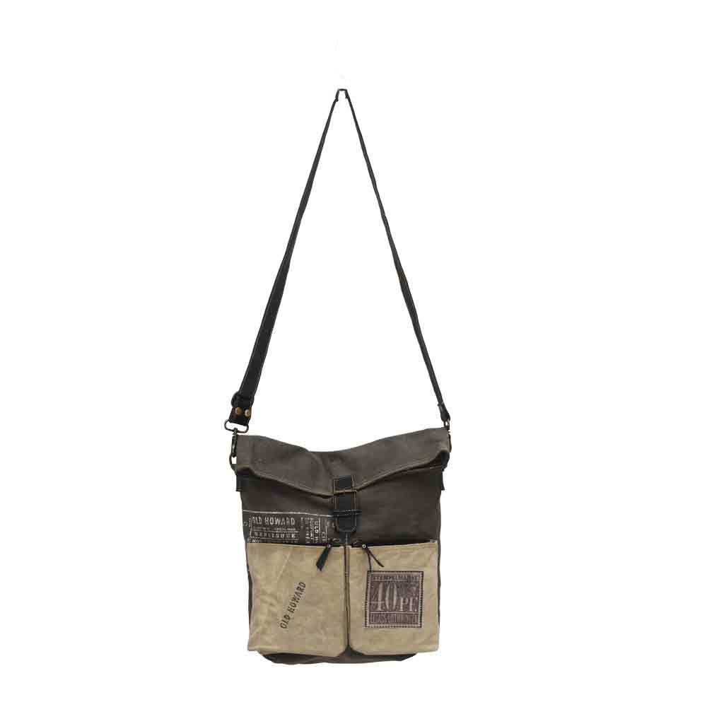025dd3772f0 Details about Unisex-Old Howard Rugged Canvas messenger bag / Cross Body  Bag.