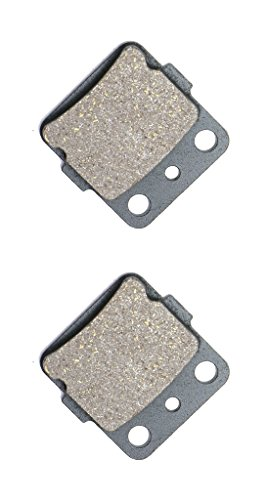 CNBK Front Left Brake Pads Semi-met fit for YAMAHA ATV YFM660 YFM 660 FWAP FWAR FWAS FWAT FWAW FGW FGX Grizzly 02 03 04 05 06 07 08 2002 2003 2004 2005 2006 2007 2008 1 Pair(2 Pads)