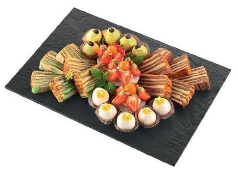 Piatti Cucina In Ardesia : Batania ardesia naturale piatto rettangolo misura cm
