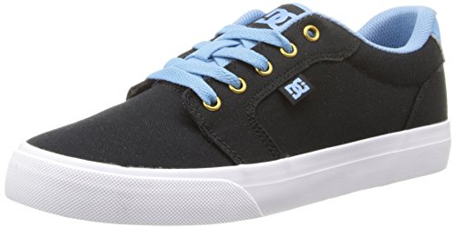 DC Shoes Mens Anvil TX M Shoe Low-Top Black/Blue
