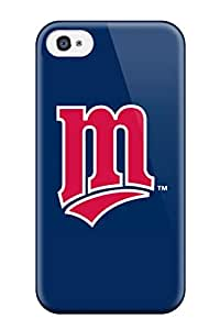 Excellent Design Minnesota Twins Case Cover For Iphone 4/4s
