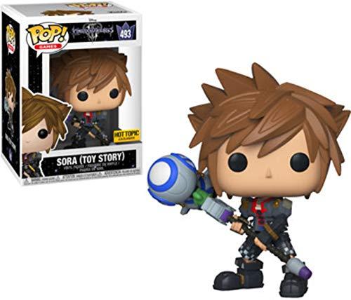 Funko POP! Disney Kingdom Hearts III Vinyl Figure Sora (Toy Story) #493 Hot Topic Exclusive