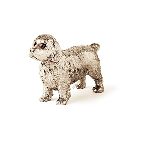 Clumber Spaniel Made in UK Artistic Style Dog Figurine Collection
