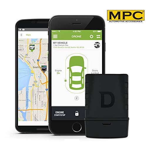 MPC Start Your Car from Your Smartphone with The Drone Mobile DR-5400 Telematics Module and Tracker