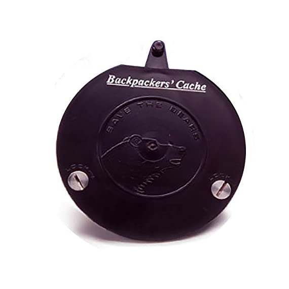 Backpackers Cache' Bear Container Replacement Lid 1 Replacement Lid fits all Backpackers Cache' Models Black Saves you from buying a whole new container!