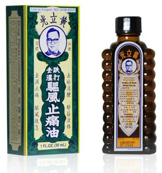 Wong Lop Kong Medicated Oil from Solstice Medicine Company 1 Oz - 30 ml Bottle