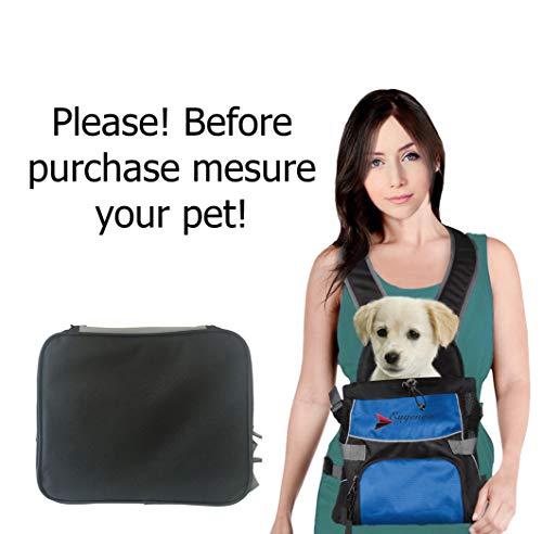 Eugene's Front Pet Carrier, Travel Bag, Adjustable Dog Carrier, Adjustable Cat Carrier.Hands-free Adjustable Pet Carrier. ()