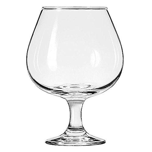 LIB3709 - Embassy Brandy Glasses, 22 Oz, Clear