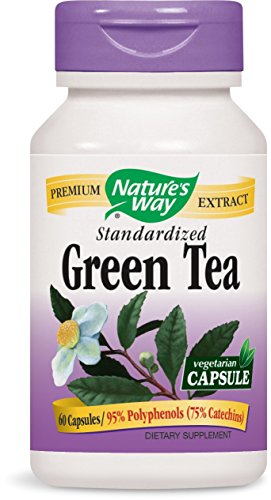 Nature's Way Green Tea, 60 Vcaps