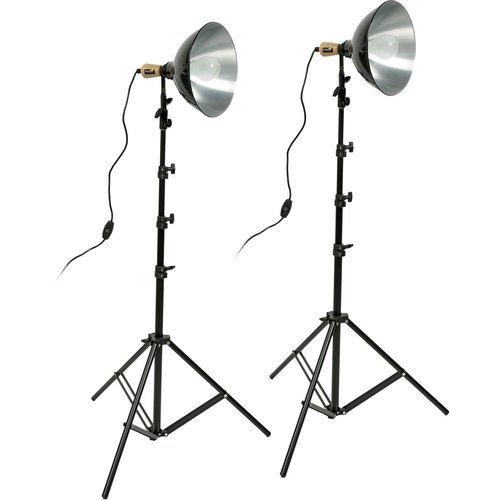 (Impact Tungsten Two-Floodlight Kit with 8' Stands by Impact)
