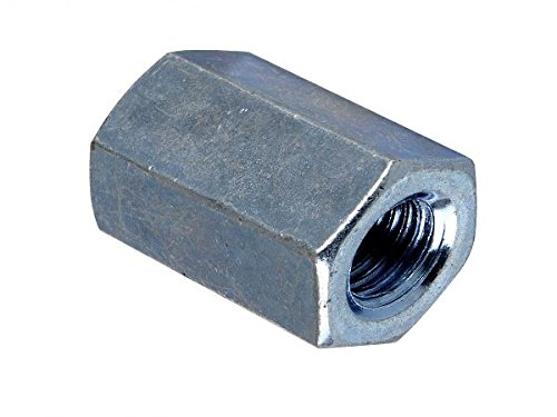 Forgefix 10CN8ZP Zinc Plated Connector Nuts