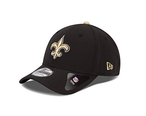 New Era NFL Team Classic 39THIRTY Stretch Fit Cap, Black, Large/X-Large