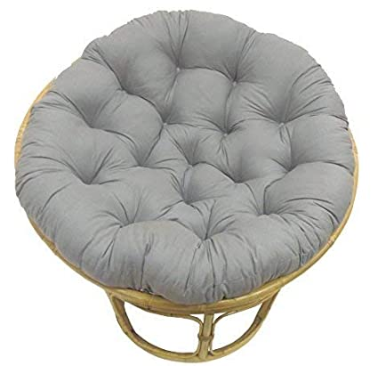 Delicieux Cotton Craft Papasan Charcoal   Overstuffed Chair Cushion, Sink Into Our  Thick Comfortable And Oversized
