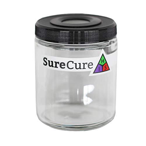 Sure Cure Classic Jar - 1/2 oz Herb Storage Jar