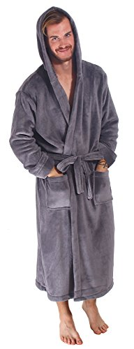 Bathrobe Simplicity Luxurious Fleece Hooded product image