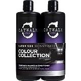 Catwalk Tigi Fashionista Blonds and Highlights Shampoo & Conditioner Set, 25.36 Fluid Ounce