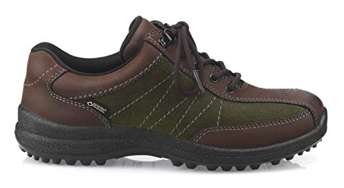 Hotter Cordones Mujer brown De Para Green Oxford Gtx Brown Zapatos Mist loden raq0IxOr