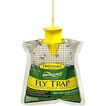 RESCUE! FTD Non-Toxic Disposable Fly Trap