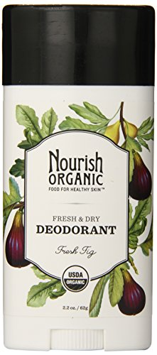 Nourish Organic Stick Deodorant, 100% Natural, Fresh Fig, 2.2 Ounce