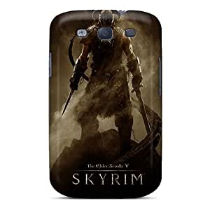 Fashionable Style Cases Covers Skin For Galaxy S3- Skyrim