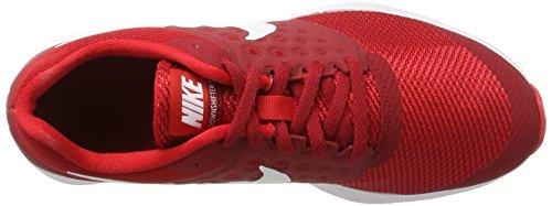 Nike Mädchen Downshifter 7 GS Laufschuhe Rot (Univ Red/white/tough Red/black)