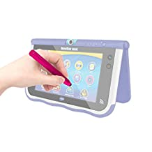 DURAGADGET Pink Aluminium 'Crayon' Style Touchscreen Stylus Pen with Rubber Tip for NEW Vtech InnoTab Max 7 Kids Tablet (2014 Release)