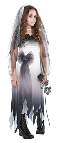 Graveyard Bride Child Costume - (Dead Bride Costume For Girls)