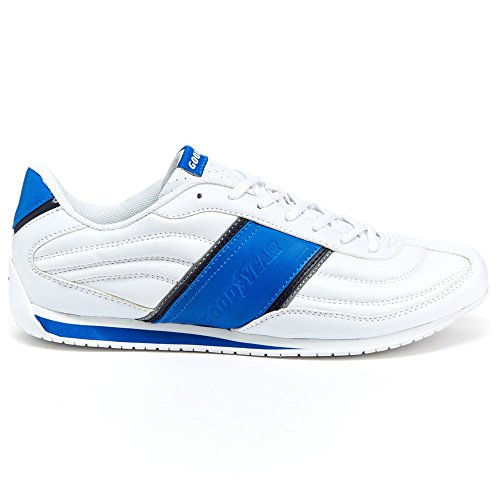 Goodyear New Mens Index Performance Driving Shoes White/Blue sz 12 - Shoes Goodyear Men Adidas