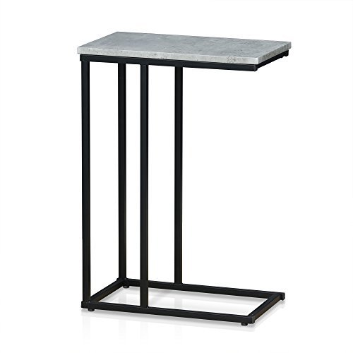 (Furinno FM4563ST-1SW Modern Lifestyle Side Table, Stone)