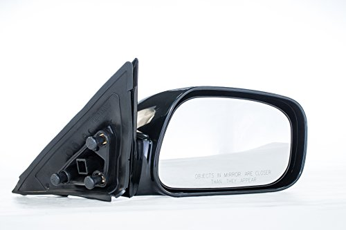 Dependable Direct Right Passenger Side Unpainted Power Operated Non-Heated Non-Folding Door Mirror for USA Built Toyota Camry (2002 2003 2004 2005 2006)